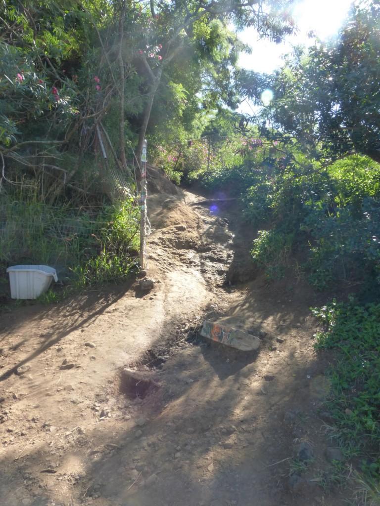 Trail entry